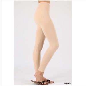 Pants - WARM FLEECE MILLENNIAL BLUSH SEAMLESS LEGGINGS